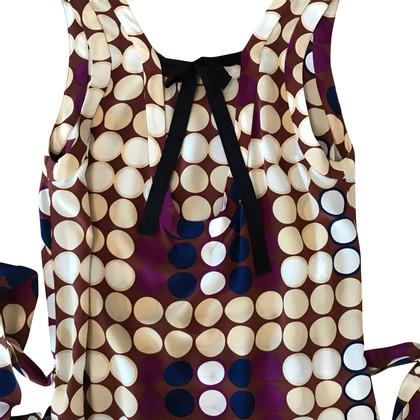 Marni for H&M Zijden top met patroon