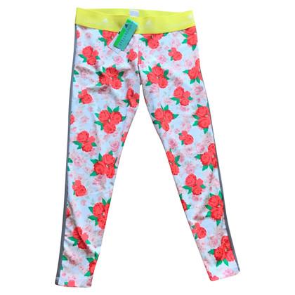 Stella McCartney for Adidas Sporthose mit floralem Muster