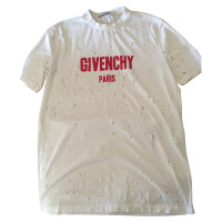 Givenchy t shirt in a distroyed look buy second hand for Givenchy t shirt size chart