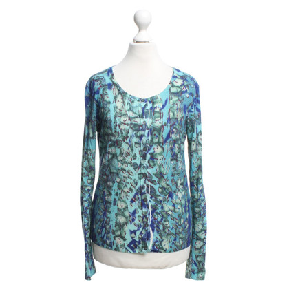 Escada Cardigan with floral print