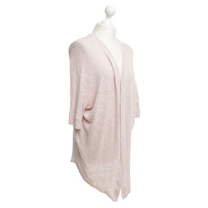 Velvet Cardigan in pink