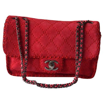"Chanel ""2.55 Flap Bag"" aus Wildleder"