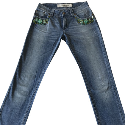 Blumarine Jeans with stone application