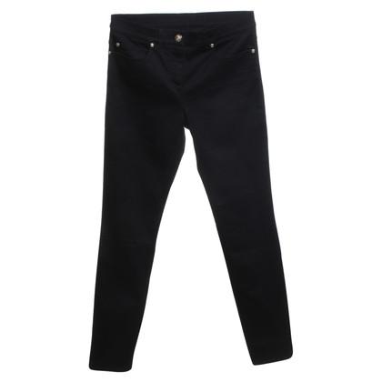Versace Skinny Jeans en noir