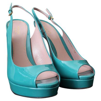 Gucci Slingback peep-toes