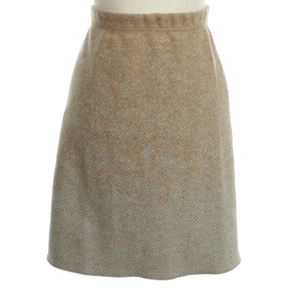 Marc Cain Wool skirt with print