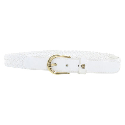 Aigner Braided leather belt