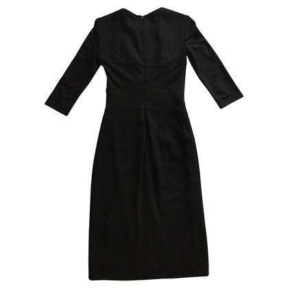 Hugo Boss Schede jurk met decoratieve stiksels