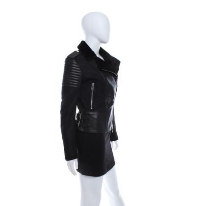 Belstaff Lambskin jacket in black