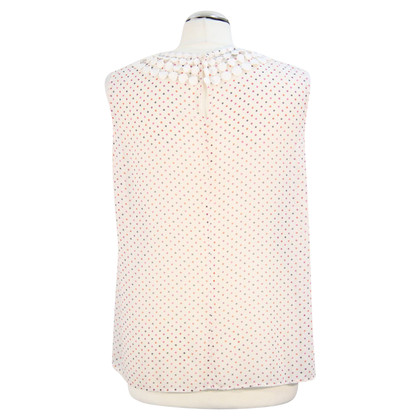 Hobbs Transparent top with dots