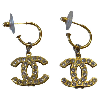 Chanel Double C logo Earring