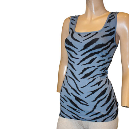 Wolford Top in blue/black