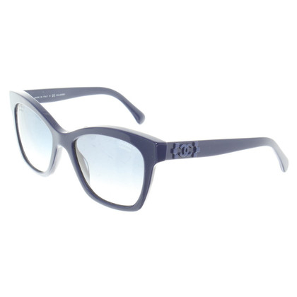 Chanel Sonnenbrille in Blau