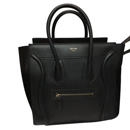 Céline Schwarze Micro Lugagge Bag