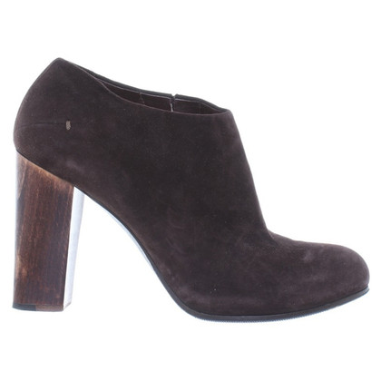 Costume National Ankle Boots in Braun
