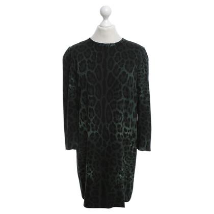 Dolce & Gabbana Jurk met luipaard patroon