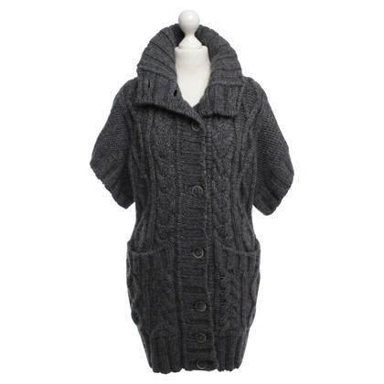 Thomas Burberry Strickjacke mit Zopfmuster