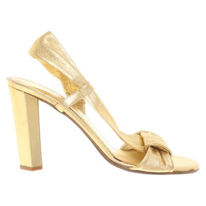 Diane von Furstenberg Golden sandals