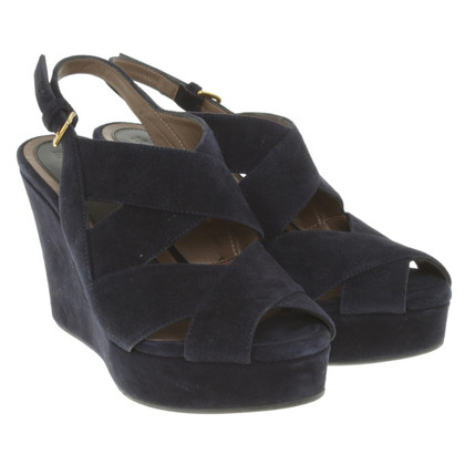 Marni Wedges in blauw