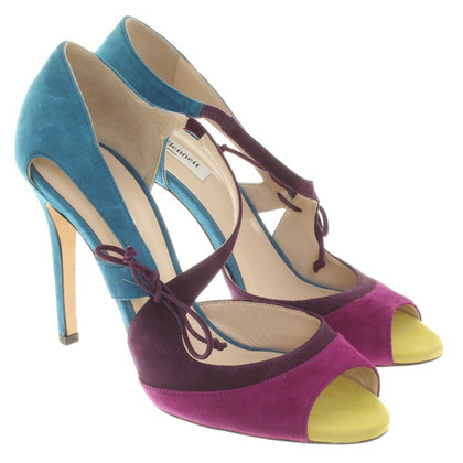 L.K. Bennett Multicolored leather stilettos