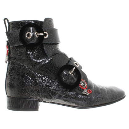 Christian Dior Ankle boots in dark gray