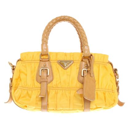 Prada Shoulder bag in yellow