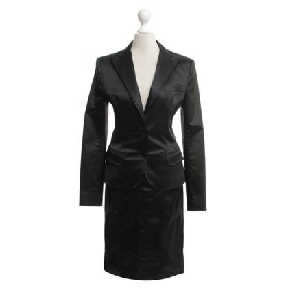 Dolce & Gabbana costume raso in nero