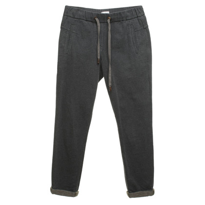 Brunello Cucinelli Jogg-Pants in anthracite