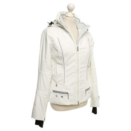 Bogner White ski jacket