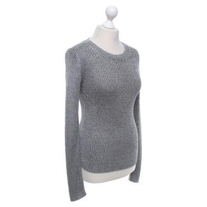 Theory Sweater in grey silver
