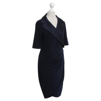 Andere merken Joseph Ribkoff - jurk in donkerblauw