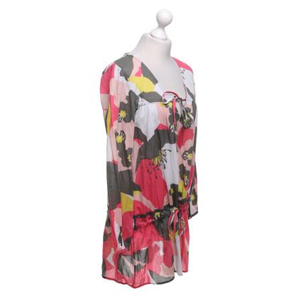 Antik Batik Tunika mit floralem Muster