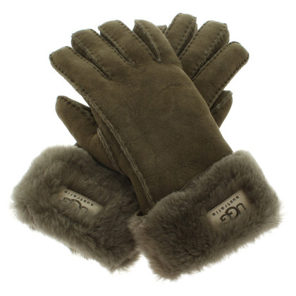 UGG Australia Gloves in dark green