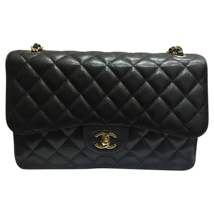 Chanel Double Flap Caviar Jumbo