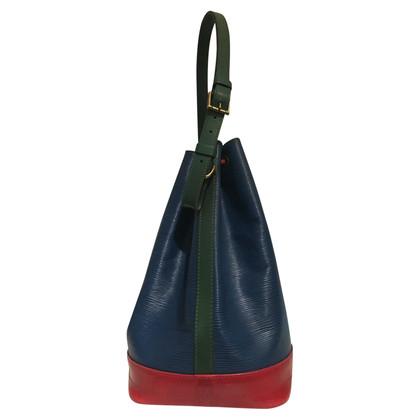 """Louis Vuitton """"Grand Noé EPI leather"""" in tricolor"""