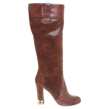 Baldinini Boot in brown leather