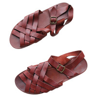 Henry Beguelin Sandals in woven leather