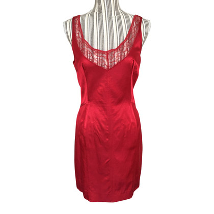 D&G Red satin dress