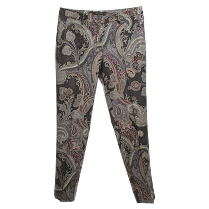 Etro Wrap-around trousers in Multicolor