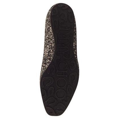 Jimmy Choo Sequin Slippers