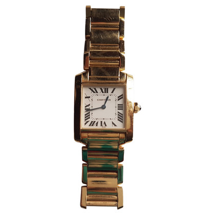 "Cartier ""Tank Francaise 18K Gold Medium"""