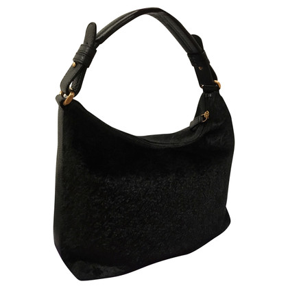 Armani Handbag made of calf leather/fur