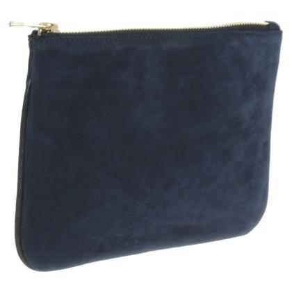 Balmain X H&M Pochette in Schwarz/Blau