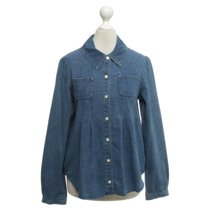 Marc Jacobs Jean blouse in blauw