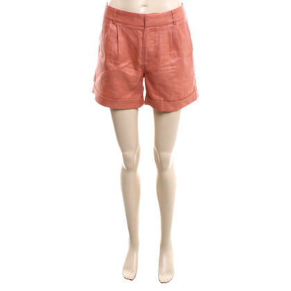 Iris & Ink Shorts in Apricot