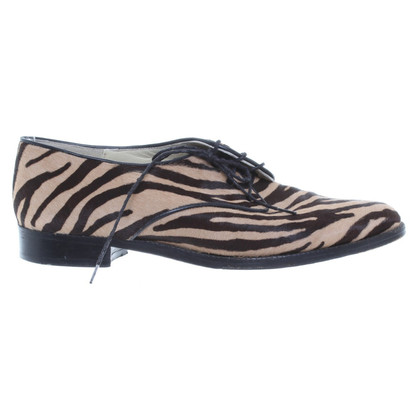 Jourdan Veterschoenen met animal print