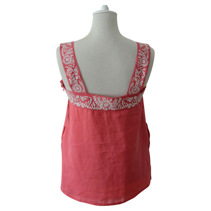 DKNY Embroidered summer top
