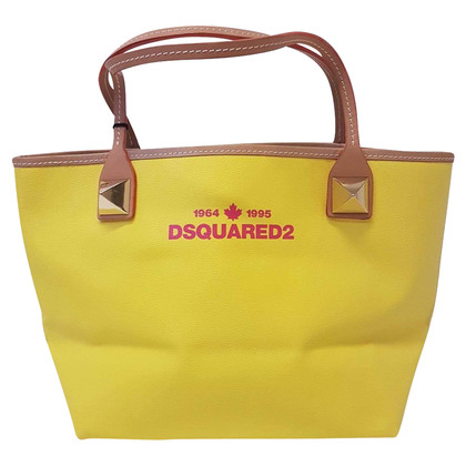 Dsquared2 Shopper in Gelb