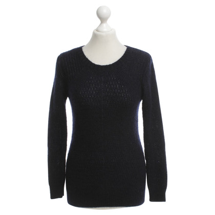 Sandro Knit sweater in dark blue