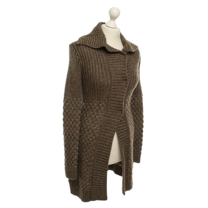 Strenesse Blue Knitted coat, gray / sand (?)